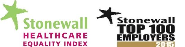 stonewall health logo for London Ambulance advert
